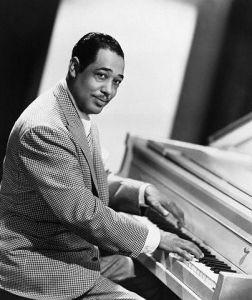 'Jazz Legend' Duke Ellington: Playing the Piano (Circa -1940's)