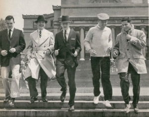 """Men in the 1950's - Fashion"""