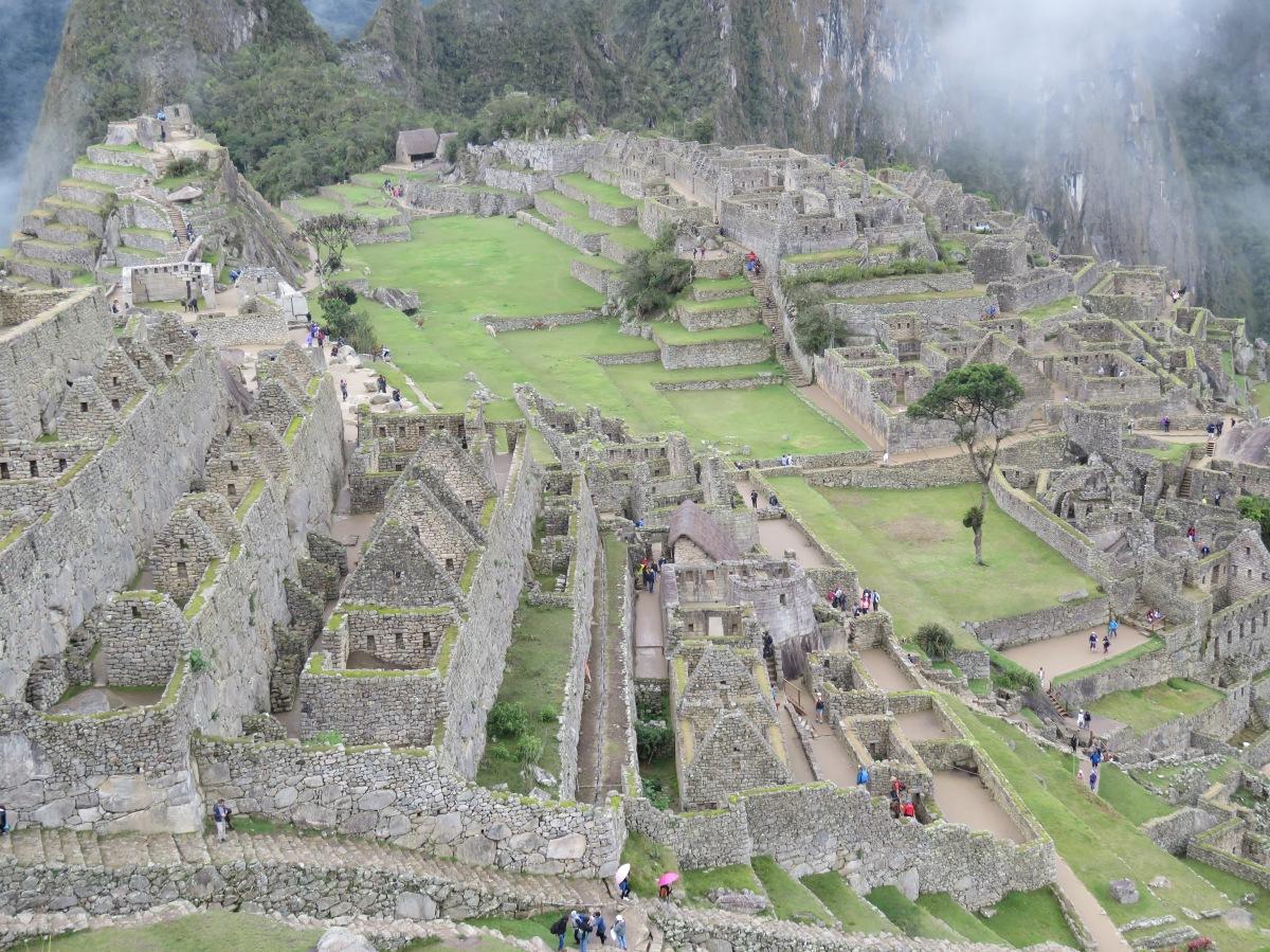 Machu Picchu and HuaynaPicchu