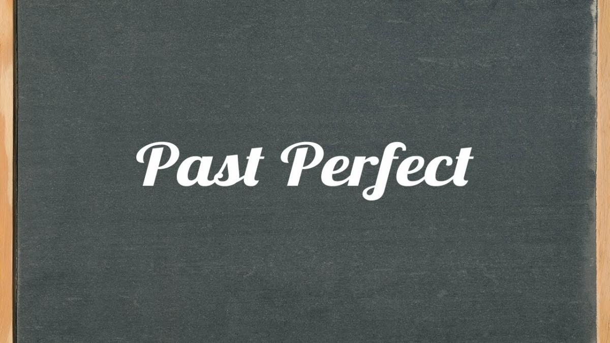 English Corner – Past Perfect Tense
