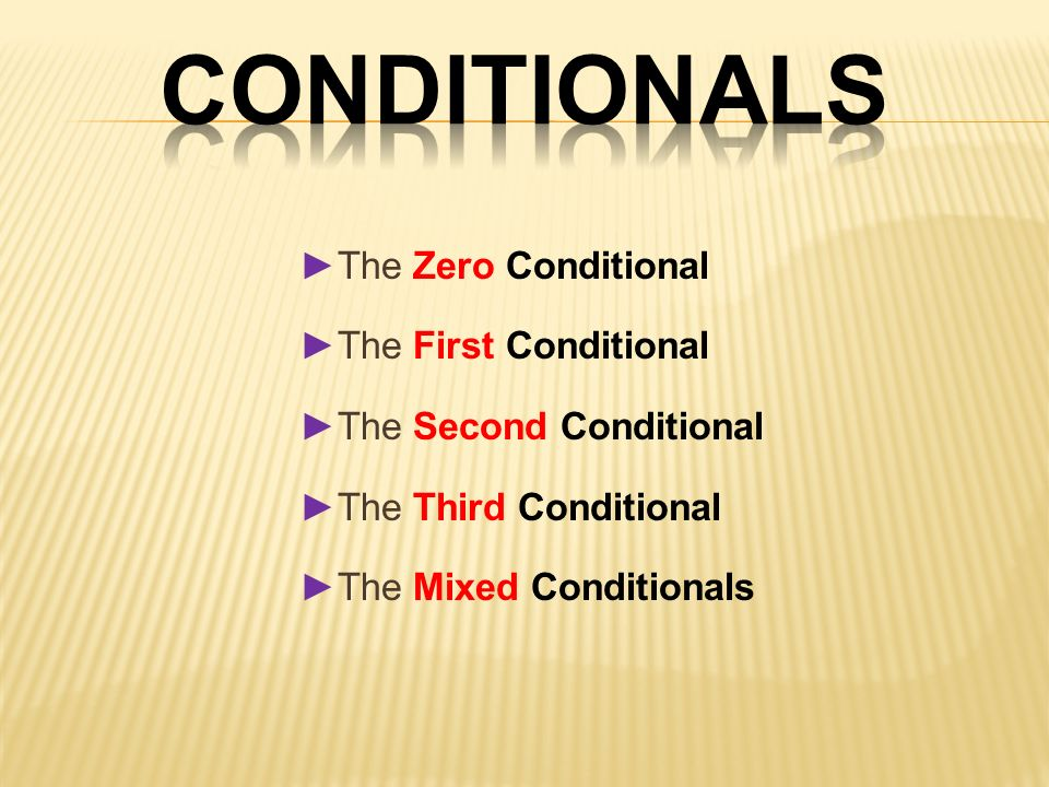 English Corner – Second and ThirdConditionals