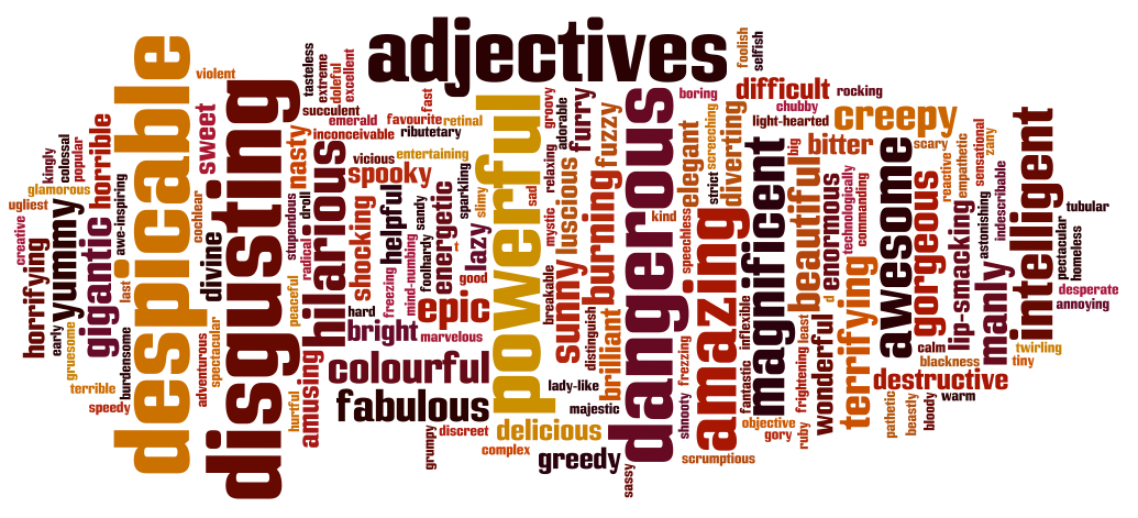 English Corner – All About Adjectives