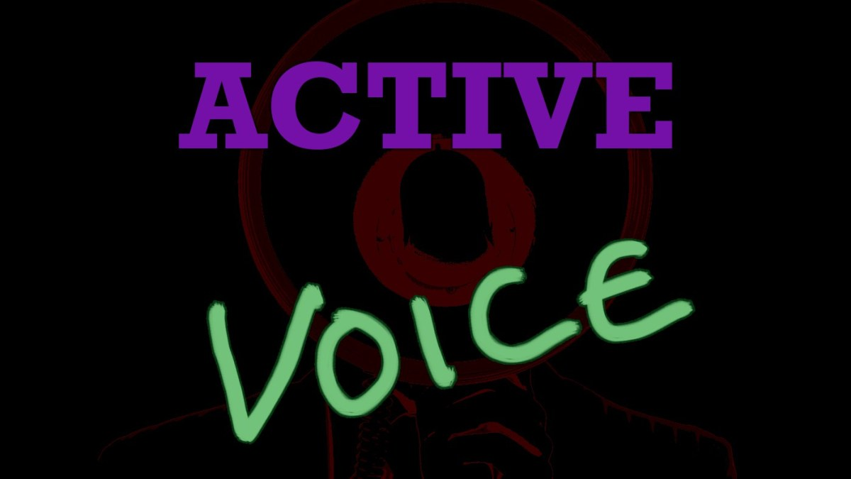 English Corner – The Active Voice