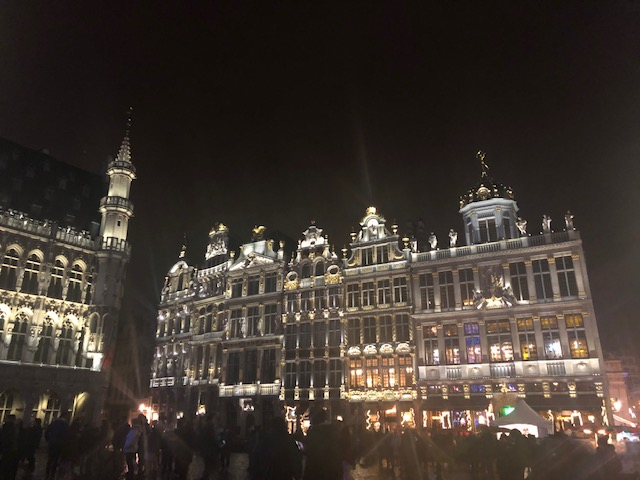 Brussels Holiday Lights