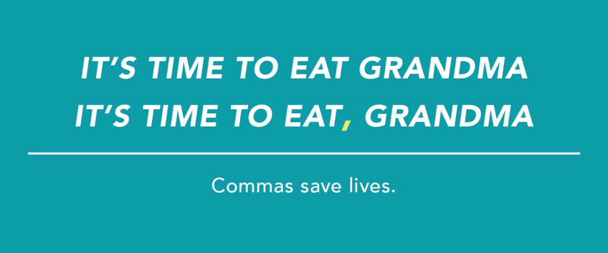 English Corner – The Utility of Commas