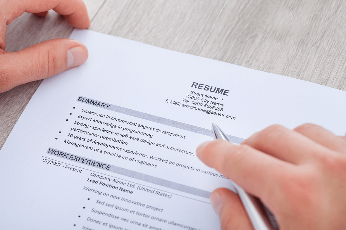 English Corner – Creating a Resume