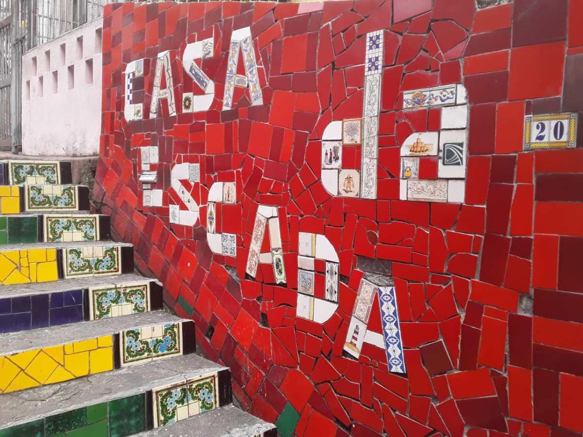 The Selaron Steps (EscadariaSelaron)