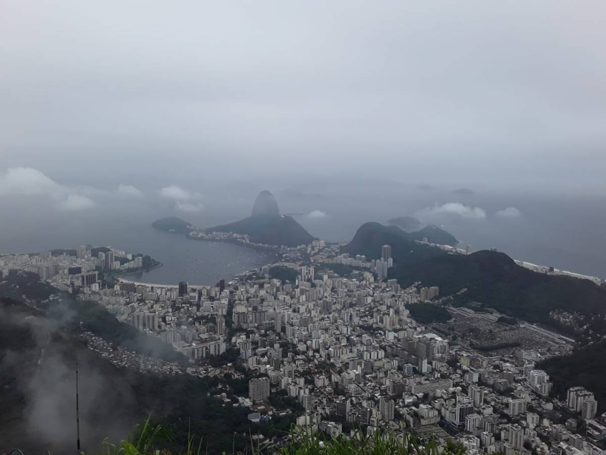Copacabana and Christ The Redeemer